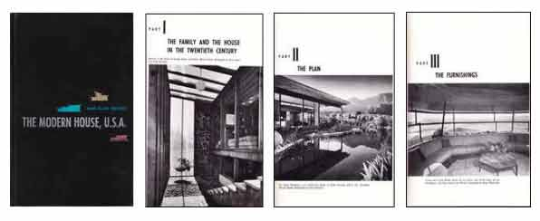 Modern House cover and inner pages
